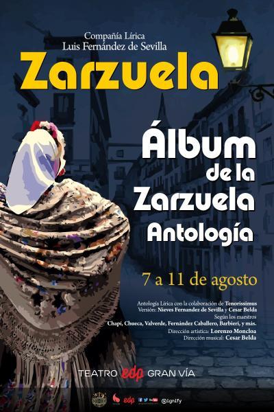 Álbum de la Zarzuela - Antología