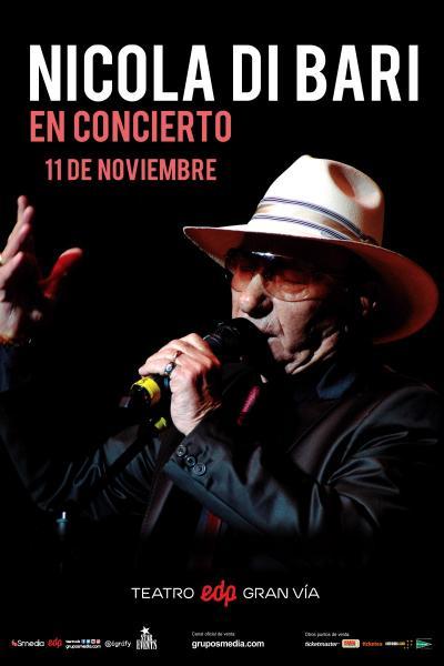 Nicola Di Bari en concierto