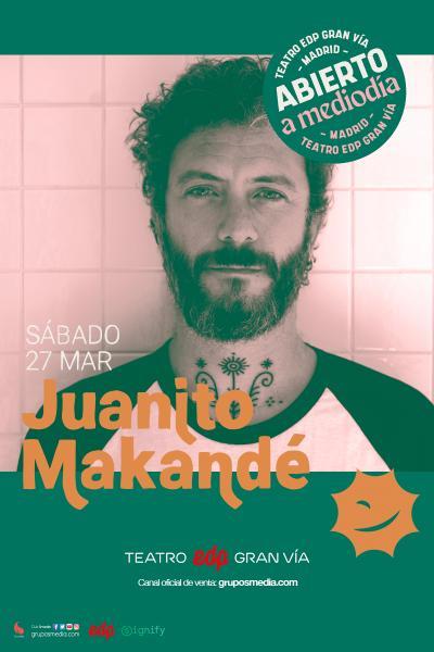 Juanito Makandé - Abierto a mediodía