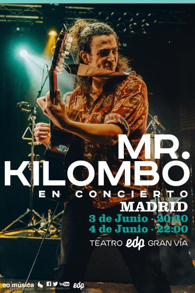Mr. Kilombo en concierto