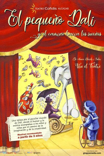 El pequeño Dalí y el camino hacia los sueños