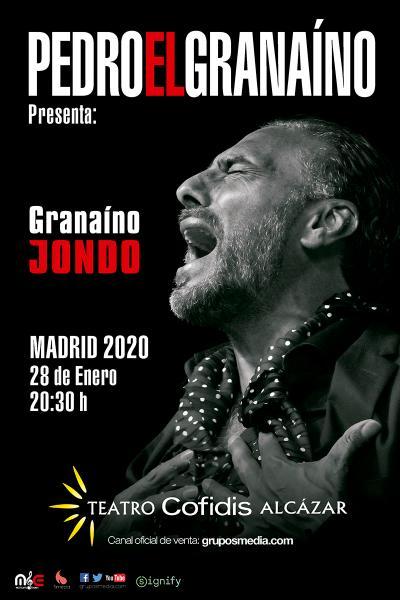 """Granaíno Jondo - Pedro """"El Granaíno"""""""