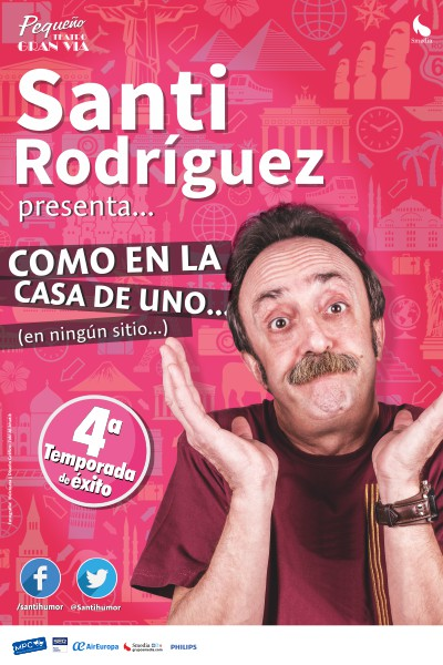 Como en casa de uno...( en ningún sitio ) -Santi Rodriguez