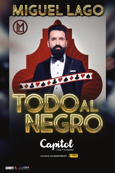 Miguel Lago - Todo al negro