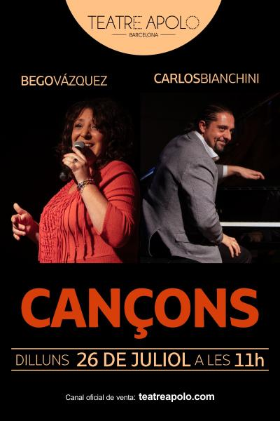 Cancons en concierto