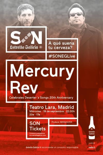 Mercury Rev en Madrid | SON Estrella Galicia
