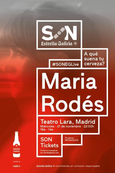 Maria Rodés en Madrid | SON Estrella Galicia