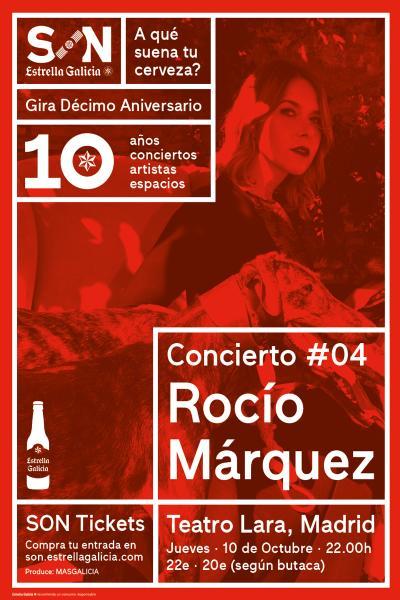 Rocío Márquez en Madrid | SON Estrella Galicia