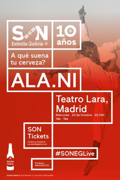 ALA.NI en Madrid | SON Estrella Galicia