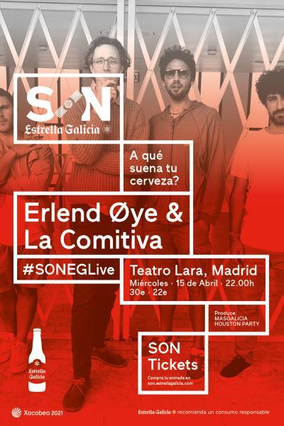 Erlend Oye & La Comitiva en Madrid | SON Estrella Galicia