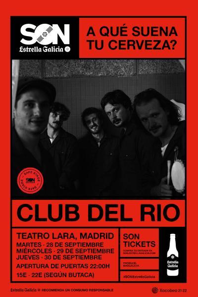 Club del Río en Madrid | SON Estrella Galicia