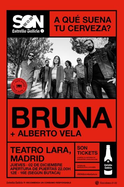 Bruna en Madrid | SON Estrella Galicia