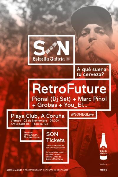 RetroFuture en Coruña   SON Estrella Galicia