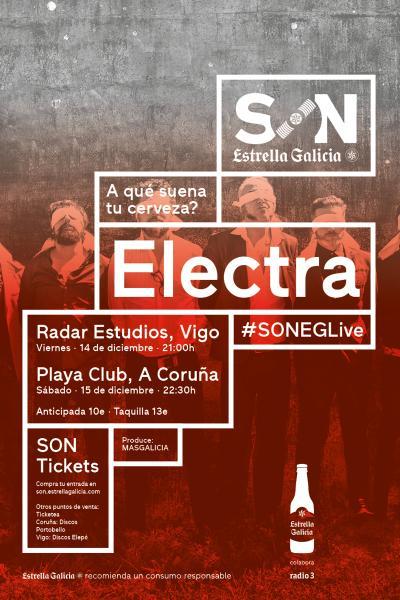 Electra en Coruña | SON Estrella Galicia