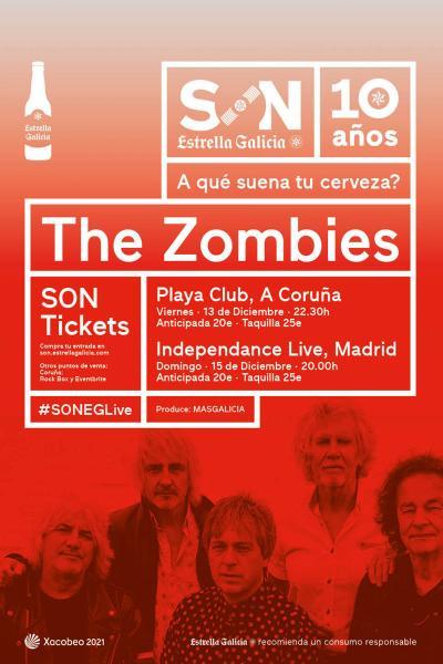 The Zombies en Coruña | SON Estrella Galicia