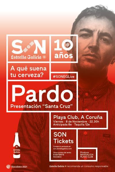 Pardo en Coruña   SON Estrella Galicia