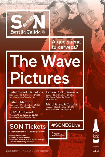 The Wave Pictures en Coruña | SON Estrella Galicia