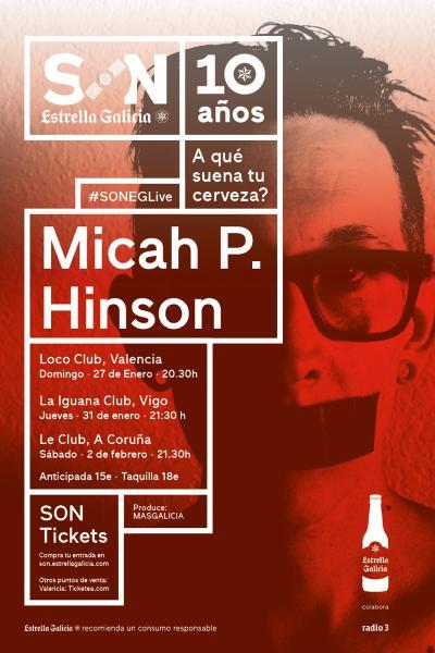 Micah P. Hinson + Santi Araujo en Coruña | SON Estrella Galicia
