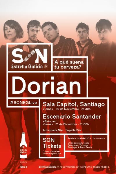 Dorian en Santiago | SON Estrella Galicia