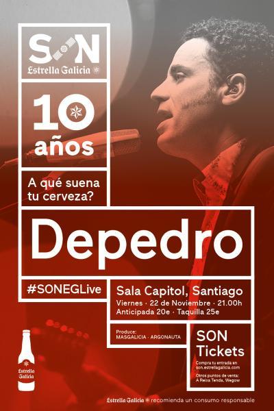 Depedro en Santiago | SON Estrella Galicia