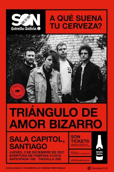 Triángulo de Amor Bizarro en Santiago   SON Estrella Galicia