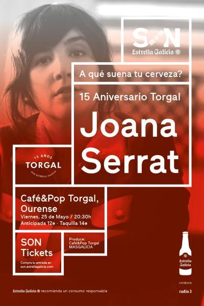 Joana Serrat en Ourense | SON Estrella Galicia