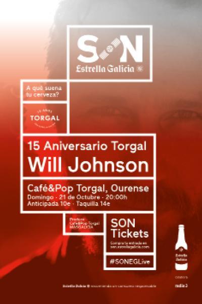 Will Johnson en Ourense | SON Estrella Galicia