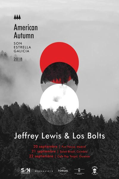 Jeffrey Lewis & Los Bolts en Ourense | American Autumn