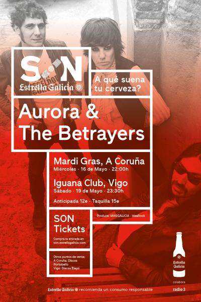 Aurora & The Betrayers en Vigo | SON Estrella Galicia