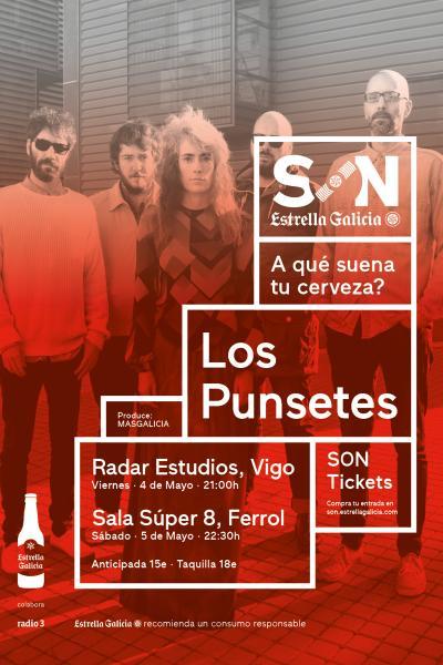 Los Punsetes en Ferrol | SON Estrella Galicia