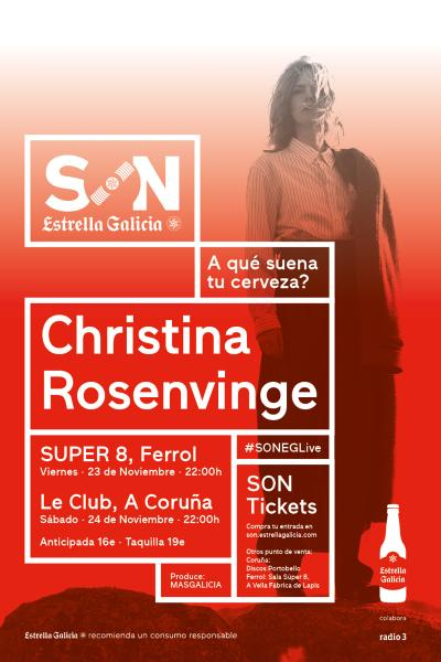 Christina Rosenvinge en Ferrol | SON Estrella Galicia