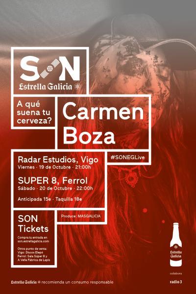 Carmen Boza en Ferrol | SON Estrella Galicia