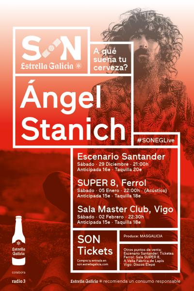 Ángel Stanich en acústico en Ferrol | SON Estrella Galicia