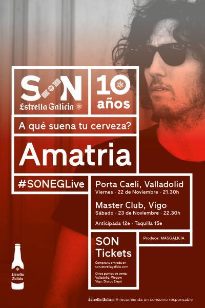 Amatria en Valladolid | SON Estrella Galicia