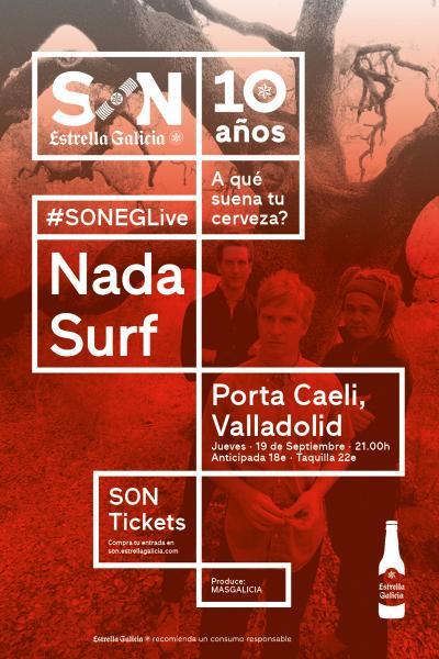 Nada Surf en Valladolid |SON Estrella Galicia