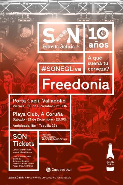 Freedonia en Valladolid | SON Estrella Galicia
