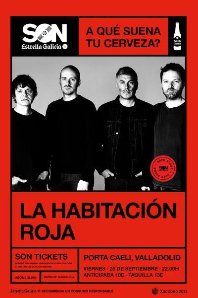 La Habitación Roja en Valladolid | SON Estrella Galicia