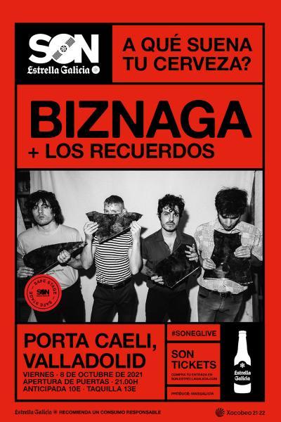 Biznaga + Los Recuerdos en Valladolid | SON Estrella Galicia