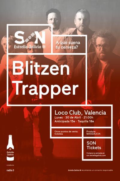 Blitzen Trapper en Valencia | SON Estrella Galicia