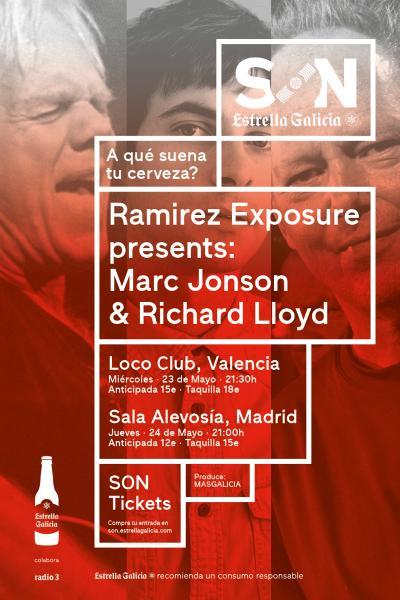 Ramirez Exposure presents Marc Jonson & Richard Lloyd | SON Estrella Galicia