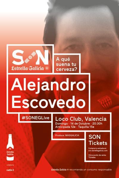 Alejandro Escovedo en Valencia | SON Estrella Galicia