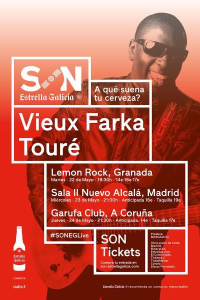 Vieux Farka Touré solo en A Coruña   SON Estrella Galicia