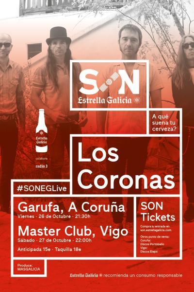 Los Coronas en Coruña | SON Estrella Galicia