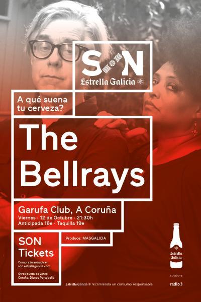 The Bellrays en Coruña   SON Estrella Galicia