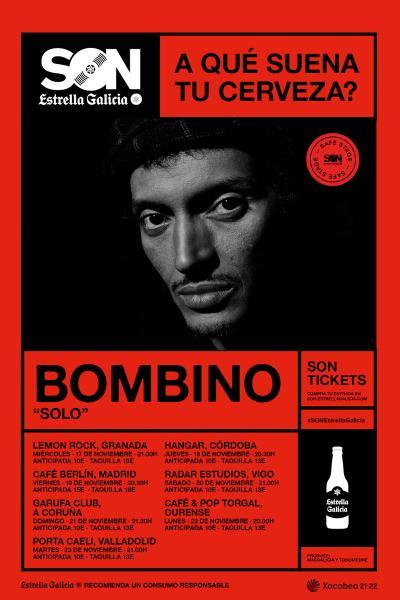 Bombino en Coruña   SON Estrella Galicia