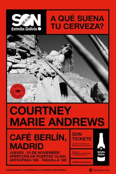 Courtney Marie Andrews en Madrid | SON Estrella Galicia