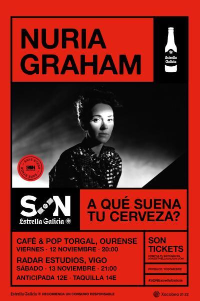 Nuria Graham en Vigo | SON Estrella Galicia