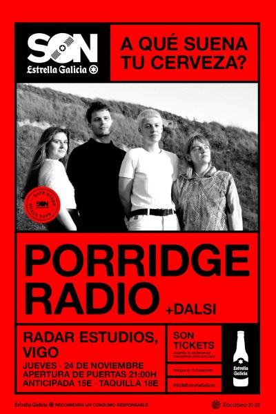 Porridge Radio en Vigo   SON Estrella Galicia
