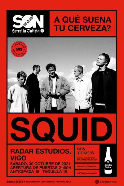 Squid en Vigo | SON Estrella Galicia