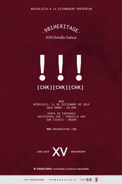 !!! (Chk Chk Chk) en Madrid | 981heritage